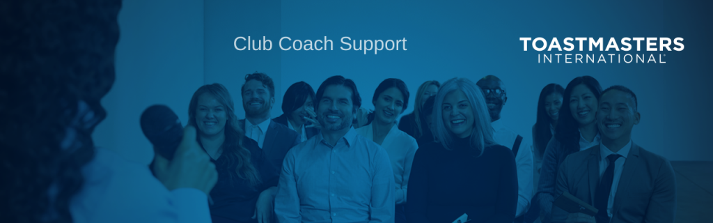 Toastmasters Club Coach Banner Image